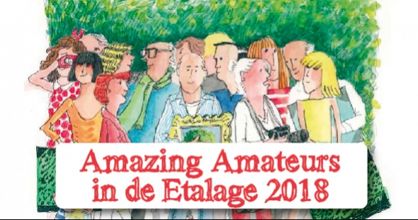 Amazing Amateurs in de Etalage 2018